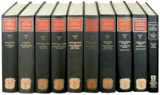 Bibliography of American Literature 10 Volumes. Jacob Blanck, Michael Winship