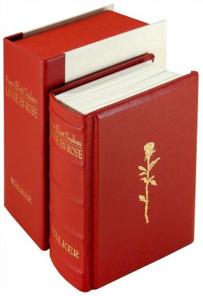 Pierre Elliott Trudeau: La Vie en Rose. A Biography in 80 Wood Engravings by George A. Walker....