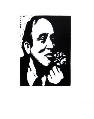 Pierre Elliott Trudeau: La Vie en Rose. A Biography in 80 Wood Engravings by George A. Walker
