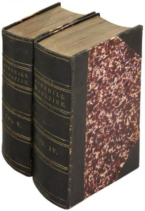 The Cornhill Magazine. Volumes IV (July to December 1861) and Volume V (January to June 1862). Anthony Trollope.