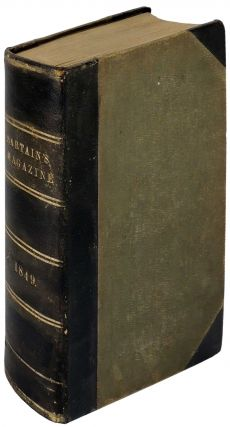 Sartain's Union Magazine of Literature and Art. Volume IV (4) January - June, 1849 and Volume V...