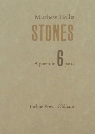 Stones. Matthew Hollis