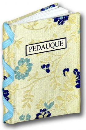 Pedauque. Bo Press Miniature Books, Prue Batten, book artist Pat Sweet