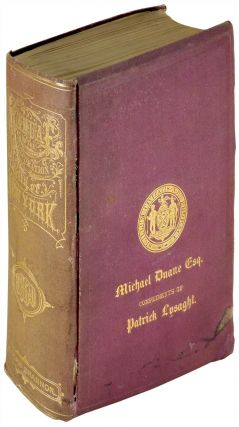 Manual of the Corporation of City of New York for 1869. Joseph Shannon