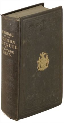 Manual of the Corporation of City of New York for 1853. D. T. Valentine, David Thomas