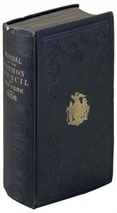 Manual of the Corporation of City of New York for 1856. D. T. Valentine, David Thomas.