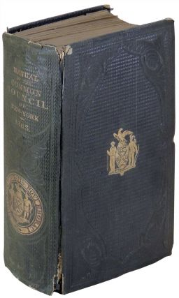 Manual of the Corporation of City of New York for 1863. D. T. Valentine, David Thomas.