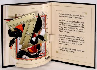 The Movable Book Society's 25th Anniversary. A to Z: Marvels in Paper Engineering. A Collection of 26 Pop-Up Cards