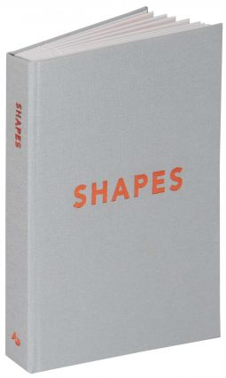 Shapes. Abstract Orange Press, Lauren Emeritz, book artist.