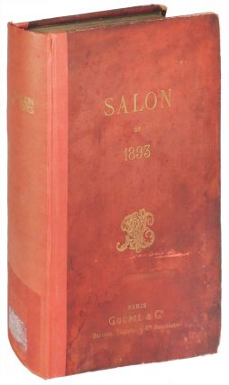Goupil's Paris Salon of 1893. Gaston Jollivet, Henry Bacon