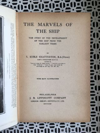 The Marvels of the Ship: The Story of the Development of Ship from the Earliest Times