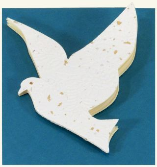 The Little Dove Booklet (blank notebook). Robert Wu