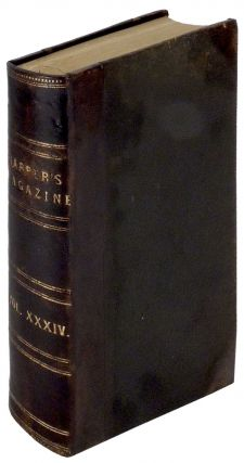 Harper's New Monthly Magazine. Volume XXXIV (34) December 1866 to May 1867. Mark Twain