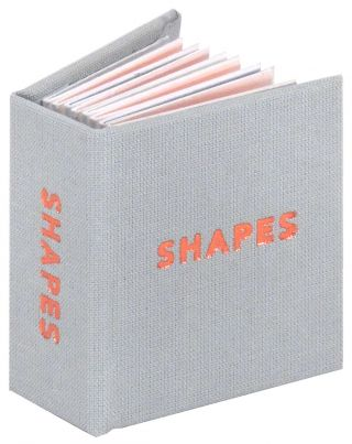 Shapes (Miniature). Abstract Orange Press, Lauren Emeritz