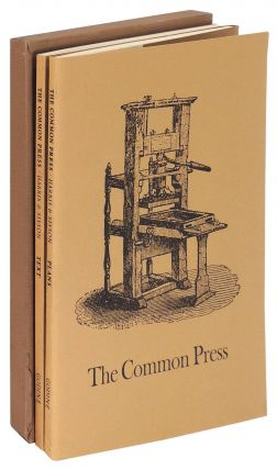 The Common Press: Being a Record, Description & Delineation of the Early Eighteenth-Century...
