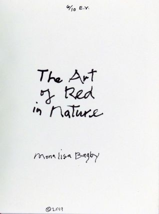 The Art of Red in Nature