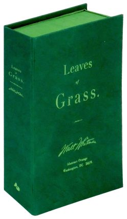 Leaves of Grass by Whitman: Abstract Orange Edition. Abstract Orange Press, Walt Whitman, book...