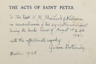 The Acts of Saint Peter: A Cathedral Festival Play