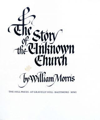 Story of the Unknown Church