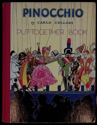 Pinocchio put-together book. Carlo Collodi, Christopher Rule, Pelagie Doane