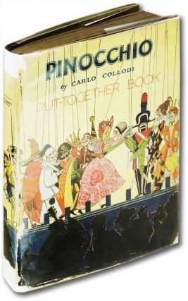 Pinocchio put-together book.