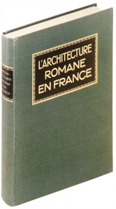 L'Architecture Romane en France. Julius Baum