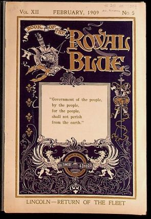 Book of the Royal Blue Vol. XII. February, 1909. No. 5. Unknown